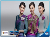 Special Offer in Thai Airways' Flights Exclusive for Citi Cardholders