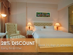 Early Bird 14 Days - Breakfast Included with Up to 28% Savings in The Royale Chulan Damansara