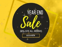 Year End Sale - 38% Off on your Stay in Hotel Yan