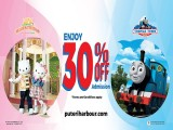 SANRIO HELLO KITTY TOWN and THOMAS TOWN Special Offer for NTUC Cardholders