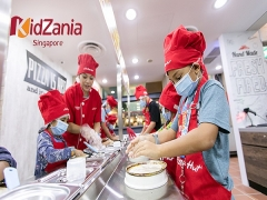 SGD5 OFF Kid Ticket to KidZania Singapore Exclusive for NTUC Cardmembers