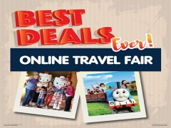 Online Travel Fair September - Admission Tickets for Two from RM95 in Puteri Harbour