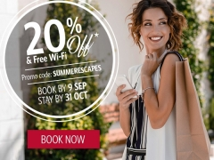 Summer Escapes with up to 20% Savings in Copthorne Kings Hotel Singapore