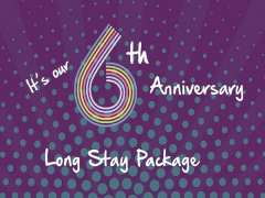 6th Anniversary Long Stay Promotion in Capri by Fraser Singapore