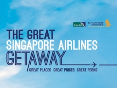 Singapore Airlines and SilkAir Amazing Fares to more than 80 Destinations with DBS Card