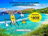 Fly to Honolulu for as low as SGD409 with Scoot