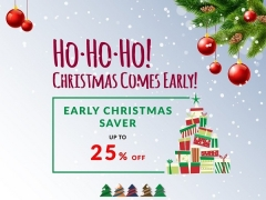 Early Christmas Saver from Compass Hospitality with Up to 25% Savings