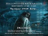 Stay & Play Offer at Bay Hotel Singapore for the Halloween Horror Night Experience