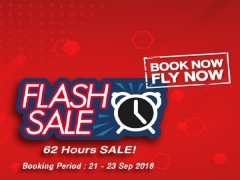 Flash Sale - 62 Hrs to Book your Seat to Bangkok with Thai Lion Air