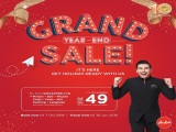 Grand Year-End Sale in AirAsia with Flights from SGD49