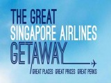 The Great Singapore Airlines Getaway Special with fares from SGD148