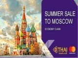 Summer Sale for Moscow with Thai Airways and MasterCard