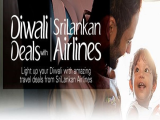 Diwali Deals with up to 10% Off Economy Class fares in SriLankan Airlines