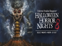 Online Exclusive: 4 Halloween Horror Nights™ 8 Admission Tickets at SGD232 (Save 14%)