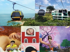 More than 25% off Trick your Eye Bundle and Singapore Cable Car Offer with DBS Card