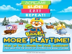 Additional Hour of Fun in Pororo Park Singapore this October