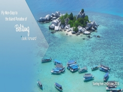 Fly Non-Stop To The Island Paradise Of Belitung with Garuda Indonesia