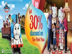30% Off 2-Park Pass Discount Vouchers for DCAWP Customers at Puteri Harbour
