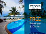 Half Board Upgrade with Complimentary Breakfast & Dinner at Centra by Centara Coconut Beach Resort Samui