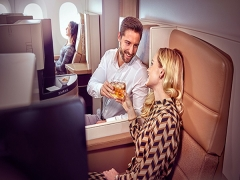 Business Class Offer to Europe and New York in Etihad Airways