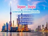 Singapore via Shanghai to International Destinations in Business Class with China Eastern Airlines