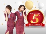 5th Anniversary Special - Fly to Bangkok with Thai Lion Air from SGD75