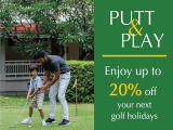 Putt & Play - Enjoy up to 20% Off your Next Holiday at Centara Hotel in Hua Hin