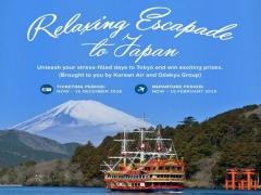 Relaxing Escapade to Japan with Korean Air