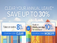 Save Up to 30% Off Accommodation with Hotels.com