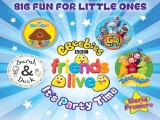 "CBeebies & Friends – ""It's Party Time""! Room Package in Resorts World Genting"