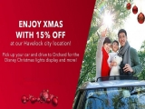 Enjoy Christmas with Up to 15% Off Car Rental with Avis