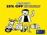 Up to 25% Off Fares in Scoot for Krisflyer UOB Cardmembers