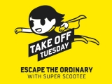 Escape the Ordinary this Tuesday with Scoot Sale