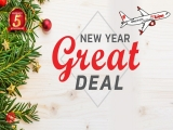 New Year Great Deal in Thai Lion Air with Flight to Bangkok from SGD79