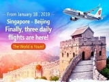 Fly to Beijing with Air China from SGD252