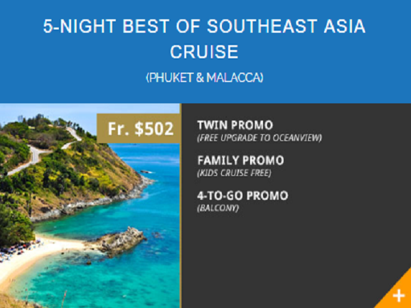 10th Year Anni 5 Night Best Of Southeast Asia Cruise Phuket Amp Malacca From Stamford Discovery