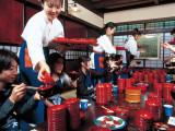 Iwate/Wanko soba + Morioka hand craft experience + Onsen