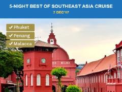 5-Night Best of Southeast Asia Cruise - Phuket, Penang & Malacca