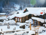 8/10D Harbin Snow Town New Explore + Chagan Lake Winter Fishing