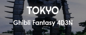 Tokyo Ghibli Fantasy 4D3N