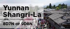 8/9 Days Exotic Yunnan Shangri-La