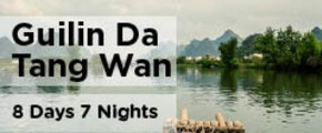 8 Days 7 Nights Guilin Da Tang Wan