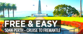 5D4N Perth F&E + Cruise to Fremantle