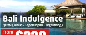 3 Days 2 Nights Indulging Me Bali
