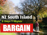 8 Days 7 Nights New Zealand South Island Discovery