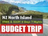 FREE & EASY 8 Days 7 Nights North Island Road Trip (Self-drive)