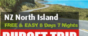 FREE & EASY 8 Days 7 Nights North Island Road Trip (Self-drive)