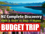 FREE & EASY 12 Days 11 Nights North and South Island Road Trip (Self-drive)