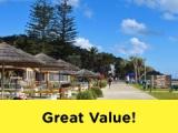 6 Days Village Roadshow Theme Parks + Tangalooma Experience