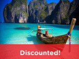 4 Days 3 Nights Khai Island or Phi Phi Island or James Bond Island {Super Package}